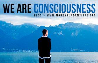 Blog - WE ARE CONSCIOUSNESS by Mari Plasencio