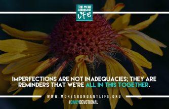 DAILY INSPIRATIONAL / JUN 27, 2018 - The More Abundant Life
